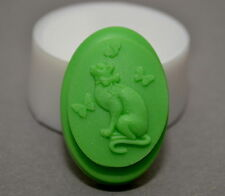 CAT Soap Silicone Mould, Soap making - mold, soap Guest BAR