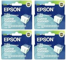 4 x Genuine Epson S020191/S020089 Colour Printer Ink Cartridge 440/640 CLEARANCE