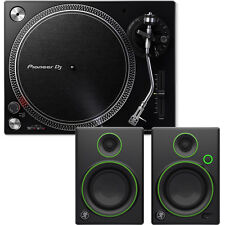 Pioneer PLX-500 K Black Direct Drive Turntable + Speakers Hi-Fi Stereo System