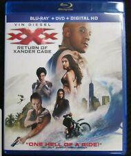 XXX Return of Xander Cage Blu-ray/DVD No Digital Copy! No scratches!