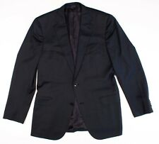 Ermenegildo Zegna Mila Fit All Season Twill Blue Sport Coat Blazer Jacket 42 R