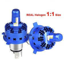 H4 9003 LED Headlight Conversion Kit Hi Lo Beam Bulb 24000LM 6000K 1:1 Halogen