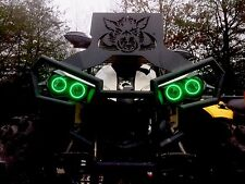 Can Am Renegade Halos rings lights set 4 - Can-am GREEN