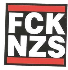 100 FCK NZS Aufkleber stickers Antifa Gegen Nazis AFA Punk GNWP ARA 161
