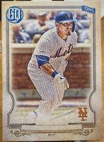 2020 Topps Gypsy Queen Baseball Missing Nameplate Wilson Ramos #88 New York Mets