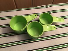 TUPPERWARE VTG Green Measuring Cups, Choose 1 Replacement Cup