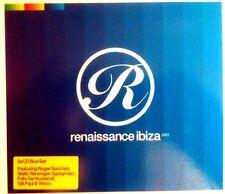 RENAISSANCE IBIZA - 3 X CDS MIXED IBIZA HOUSE & OLDSKOOL CLASSICS - CD CDJ DJ