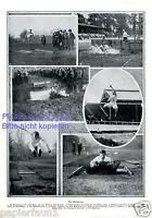 Der Weitsprung XL Seite mit Fotoabbildungen von 1910 Leichtathletik