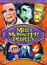 Mad Monster Party: The Special Edition (1967) DVD with Slipcase, Like New