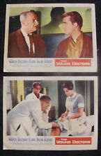 YOUNG DOCTORS Lobby card set FREDRIC MARCH DICK CLARK 1961