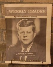 Vintage Weekly reader  December 1963 John F. Kennedy Special Memorial Edition