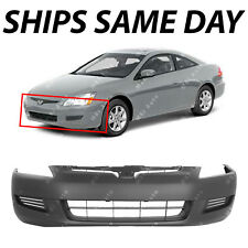 NEW Primered - Front Bumper Cover Fascia for 2003-2005 Honda Accord Coupe 03-05