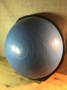 "Original  BOSU Ball 26"" Home Balance Trainer Workout Yoga Blue~Fast Free Ship"