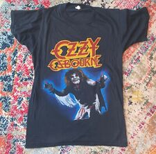 80s VINTAGE RARE Ozzy Osbourne Diary of a Madman 1981 TOUR BAND T SHIRT SMALL