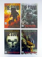 STEPHEN KING THE STAND #1,2,3,4 Marvel Comics Lot of 4 NM-NM+ 2008