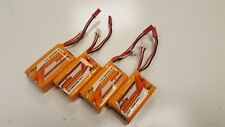 SUPER DEAL!  - 4 x FMS 7.4v 1000mAh 15c Lipo Battery JST for RC Models