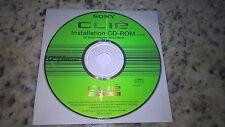 Sony Clie PEGA-sa10 Audio Adapter Software Treiber Installation CD-ROM