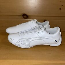 Puma Men's BMW Future Cat MMS Ultra 306242 05 Triple White Shoes Size 9