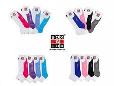 SOX&LOX -Womens Non-Cushioned, Thin, Casual, Two Tone Ankle Socks [KOREA]