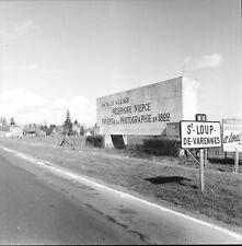 ST LOUP LES VARENNES c. 1960 - Monument Nicéphore Niepce- Négatif 6 x 6 - BFC 25