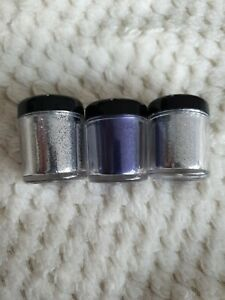 Collection Glam Crystals Face And Body Glitter 3 New Pots
