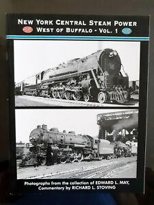 New York Central Steam Power West Of Buffalo, Vol. 1, Photos Locomotives