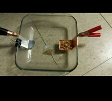 mini ReverseElectroplating kit for scrap Gold Recovery free vile of gold