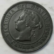 Canada 1898H Large Cent, Nice Grade, Old Date Queen Victoria