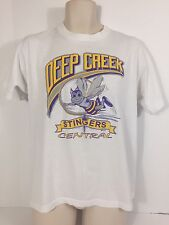 Vintage Screen Stars Best Men's Large Deep Creek Stingers White Graphic T-Shirt