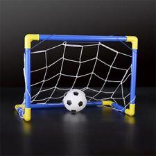 Interieur Mini Pliant Football Ballon But Post Net Set + Pompe Enfants Spor L9C4