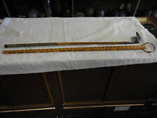 RH  Rare Niblick Peacock Wooden Shafted Golf Club