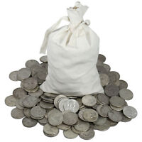 60 POUND LB Mixed US Silver Coins 90% percent Junk Silver Coins 1964 and older