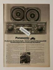 Werbeanzeige/advertisement A4: Panasonic car audio-Programm 1981 (120416221)