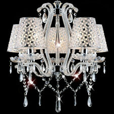 Details about 12 CRYSTALS (50mm)GLASS TEAR DROP 3 34 inches Overall Chandelier Replacement
