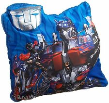 "Transformers Bedding & Room Decor Micro Bead Soft Pillow 3D 15"" x 13"""