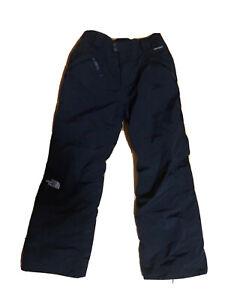 North Face Black Ski Snow Pants Hyvent Youth Kids Boys Girls Size Large 14-16