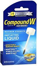 Compound W Wart Remover LIQUID Maximum Strength 0.31oz