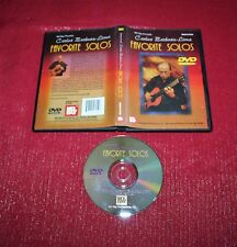 Carlos Barbosa-Lima, pre-owned Dvd, Favorite Solos Guitar Performance Mel-Bay