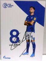 Autogrammkarte des FC Schalke 04 - 2019/2020 + Suat Serdar + AK2019158 +