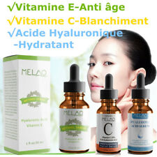 Sérum Acide Hyaluronique / Vitamine C / E /A Anti-âge Ride Visage Peau Hydratant