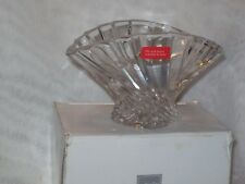 Mikasa Flores Crystal Glass Taper Tealight Voltive Candle Holder, Very Beautiful