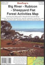 Rooftop Big River - Rubicon - Woods Point Forest Map *FREE SHIPPING - NEW*