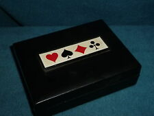 VINTAGE GRIFFON PLAYING CARD CASE MADE IN SWEDEN