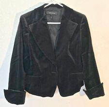 Escada Jacket Blazer Black Velvet Size 38 EU  8 US    SS1720