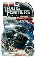 Hasbro Transformers DOTM Series BARRICADE Decepticon Action Figure Mechtech Rare