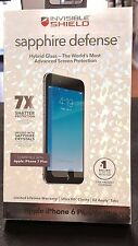 iPhone 7 Plus - ZAGG Invisible Shield SAPPHIRE DEFENSE Hybrid Glass Protector