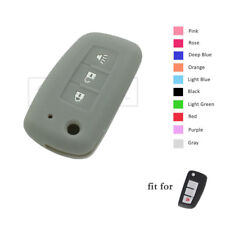 Silicone Skin Cover fit for NISSAN Rogue Sylphy Pulsar Sentra Flip Remote Key GY