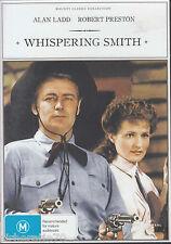 WHISPERING SMITH Alan Ladd / Robert Preston DVD - R4