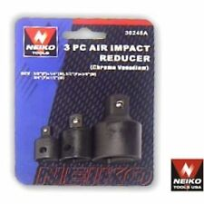 3 Pc Neiko Air Impact Adapter/Reducer Set