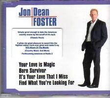 (AO191) Jon Dean Foster, Your Love is Magic - DJ CD